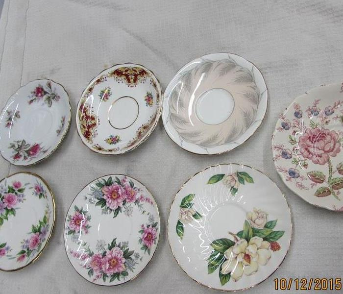 Fine China Collection Suffers Soot Damage After
