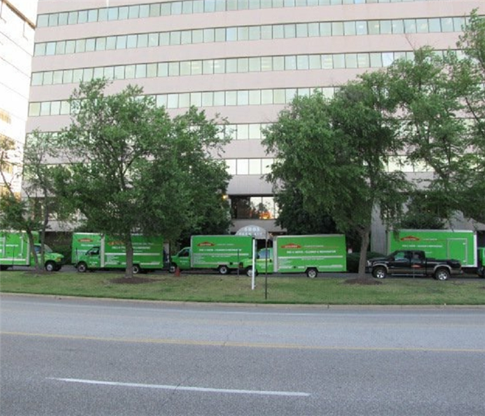 SERVPRO Commercial Job