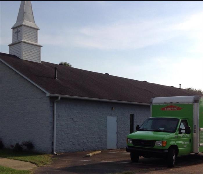 Church Restoration by SERVPRO